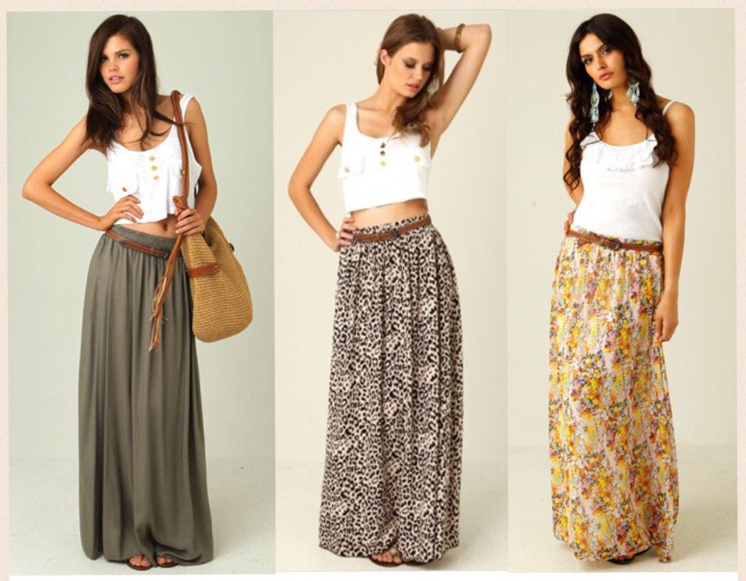 Maxi Skirt Obsessed