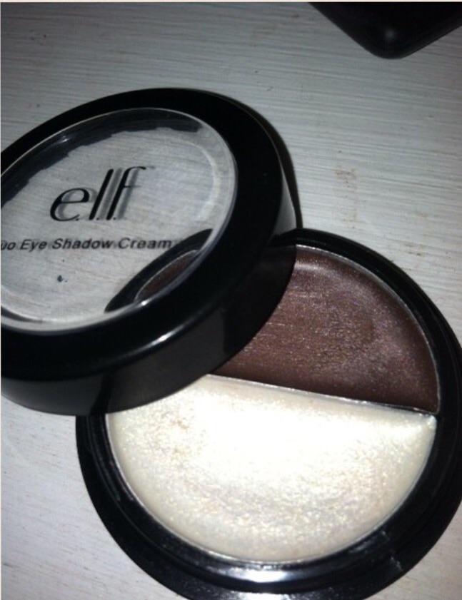 ELF coffee & cream eyes!