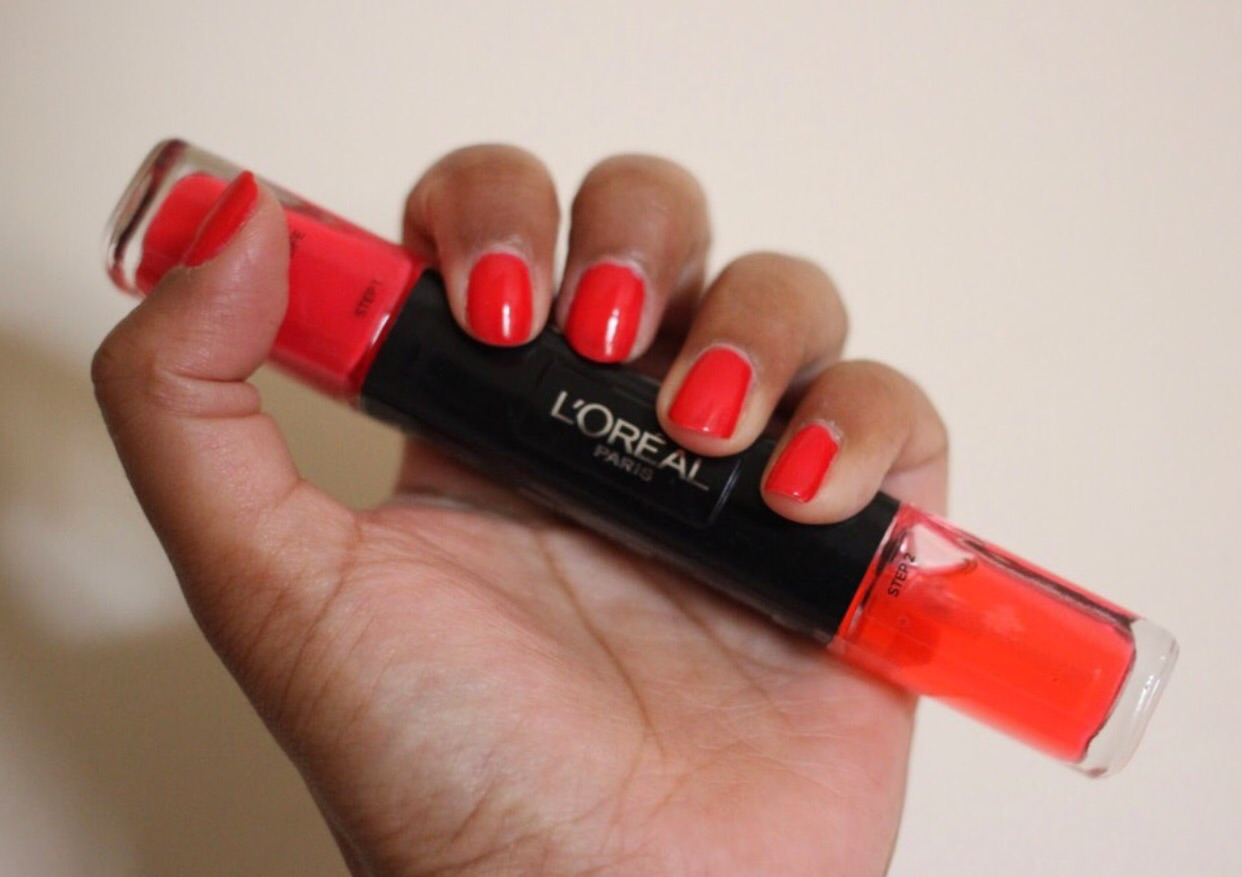 Loreal 2 step polish.. A must have