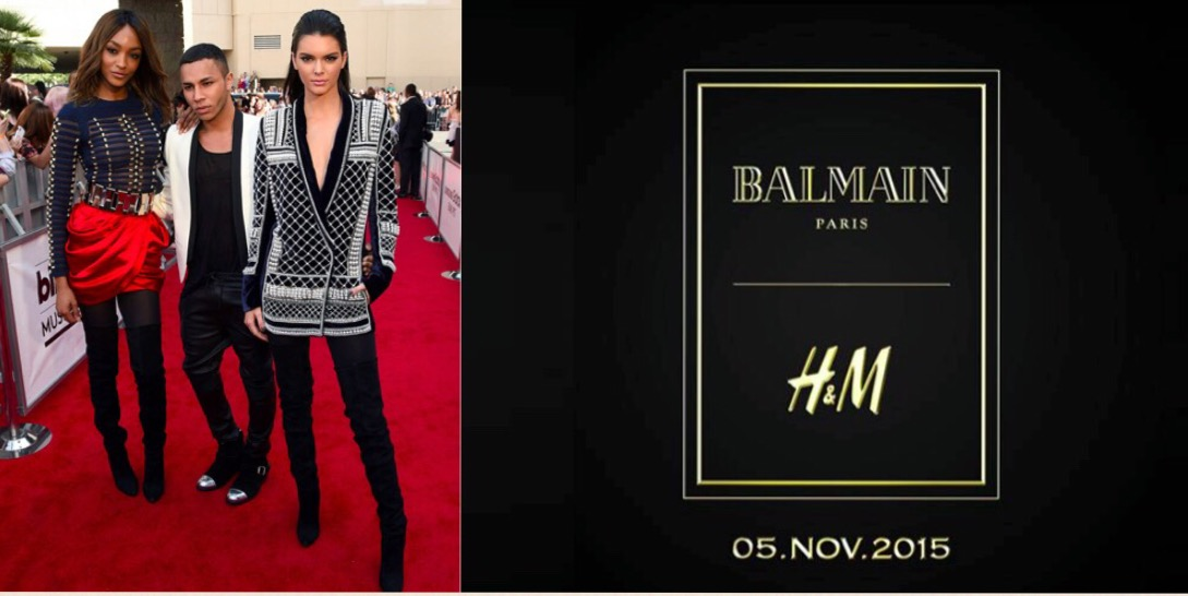Balmain for H&M. Coming soon!