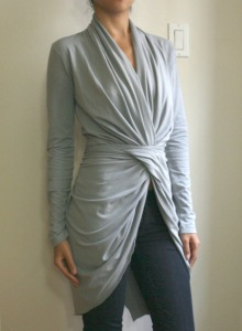 Long cardigans can be pulled together for just about any type of look