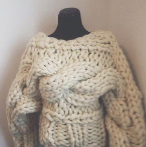 warm chunky sweaters are the best