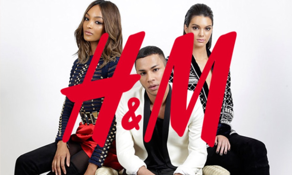 Balmain for H&M is in stores now.