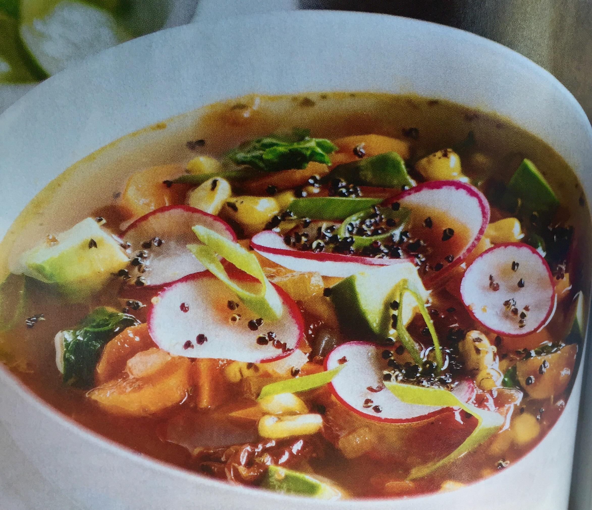 Healthy recipe .. Chipotle tomato soup!